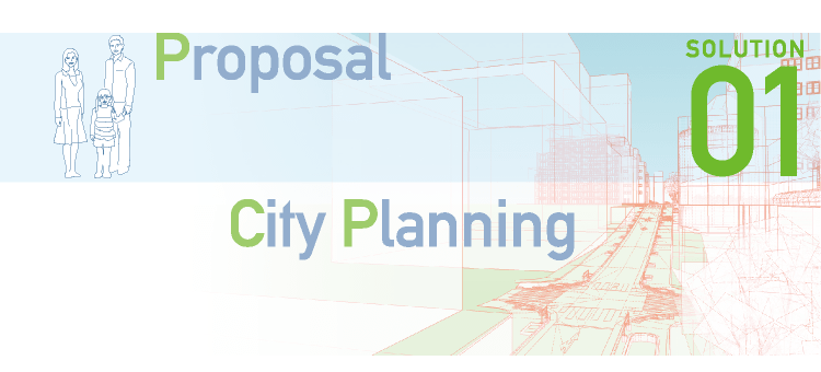 SOLUTION01 Proposal / City Planning